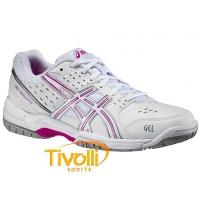 Tênis Asics Gel Dedicate 3 Branco e Rosa R  299 6716aaec3e414