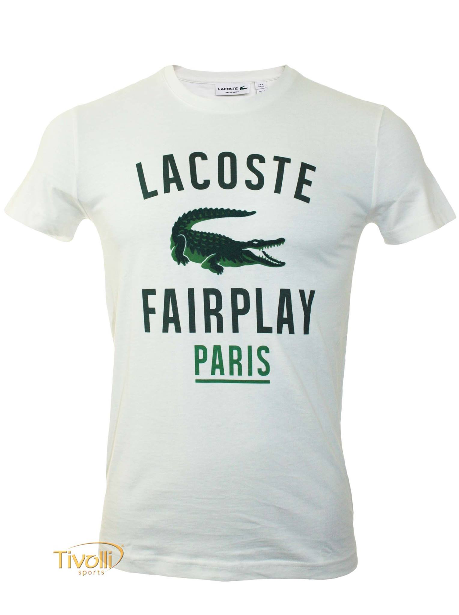 Camiseta Lacoste Fairplay Paris